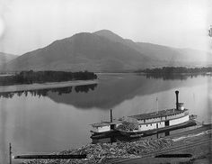 Junction North and South Thompson Rivers, Kamloops, BC, 1887.