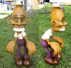 Zé caroço, marionete do spetáculo Contos da floresta(2010)