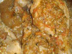 Foto del paso 8 de la receta Comida muy casera de domingo arroz de verduras y pollo sudado Tapas, Meat, Chicken, Food, Gourmet, Spinach, Vegetables, Meals, Hot Pot