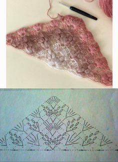 Best 12 crochet font for the cloth rainbow sister (Iris Pollak - SkillOf . - Crochet Ideas - Best 12 crochet font for the cloth rainbow sister (Iris Pollak – SkillOf … – Crochet 1 - Poncho Crochet, Crochet Shawl Diagram, Crochet Shawls And Wraps, Crochet Chart, Crochet Scarves, Crochet Motif, Crochet Lace, Crochet Stitches, Crochet Hooks