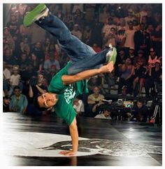 Bboy Ronnie at Red Bull BC One 2007
