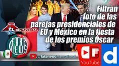 Filtran foto de las parejas presidenciales de EU y México en la fiesta d...