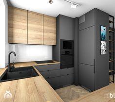 Grey Kitchen Designs, Kitchen Room Design, Modern Kitchen Design, Home Decor Kitchen, Interior Design Kitchen, Modern Kitchen Interiors, Elegant Kitchens, Cuisines Design, Kitchen Remodel