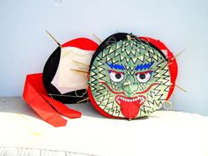 Chinese Dragon Kite Chinese Dragon Banner by PaperWoodVintage, $24.00