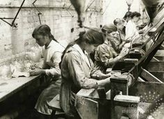 First World War: Women on the Home Front: Glass workers