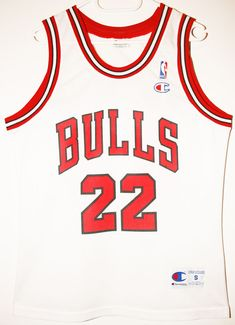 Champion NBA Basketball Chicago Bulls #22 Jay Williams Size 36 - Größe S - 89,90€ #nba #basketball #trikot #jersey #ebay #etsy #hood #sport #fitness #fanartikel #merchandise #usa #america #fashion #mode #collectable #memorabilia #allbigeverything
