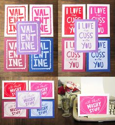 Spread a little snarky love this Valentine's day with a colorful handmade card for your sweetie!  Get 20% your entire order by using the code LOVENSTUFF13 at checkout (excludes shipping)www.thesnarkypeacock.etsy.com