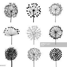 http://media.gettyimages.com/vectors/set-of-dandalions-vector-id457418449
