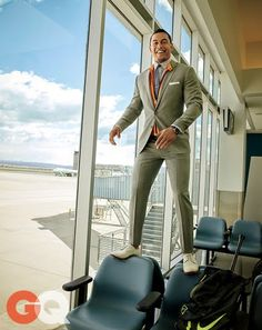 Marlins hitter Giancarlo Stanton In the New Suits move with you
