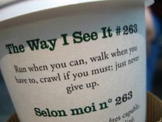 starbucks always has some good quotes