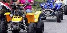Joven sufre accidente de cuidado con un four track en Aguada...