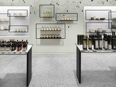 TA-ZE Premium Olive Oil Store by Burdifilek, Toronto