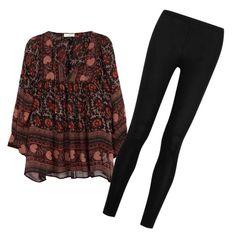 Designer Clothes, Shoes & Bags for Women Ulla Johnson, Donna Karan, Bowling, Pajama Pants, Boho, Shoe Bag, Polyvore, Stuff To Buy, Shopping