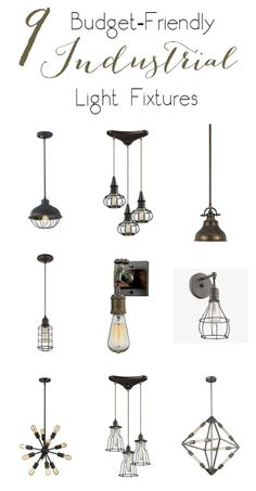 How to Make Your Own DIY Industrial Sconces - Love Create Celebrate