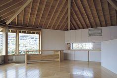 府中市 A邸 (平成16年竣工) 設計:堀部安嗣建築設計事務所 Yasushi Horibe