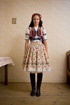 antoniceklouka-7 Traditional Wedding, Traditional Dresses, Folk Fashion, Womens Fashion, Goodbye Gifts, Beautiful Patterns, Sexy Outfits, Bohemian, Textiles