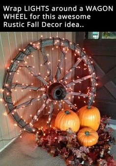 Wagon wheel lights