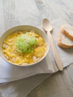 #Pasta e #fagioli. I #maltagliati all'uovo di #LucianaMosconi con cannellini e #verza. #food