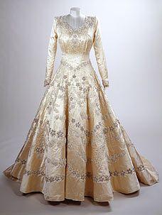 Queen Elizabeth II Wedding Gown