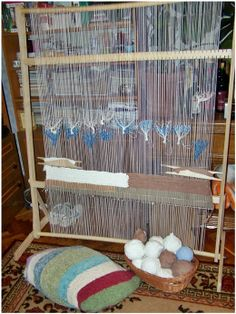 loom. my next crafting endeavor will be weaving.