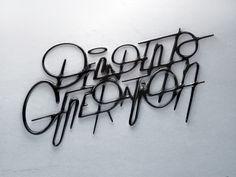 3D Design - 3D Typography - Modelling DESIGN A EMPORTER : Photo