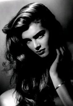 Brooke Shields by George Hurrell, glamor photographer of the 1930s and 40s.