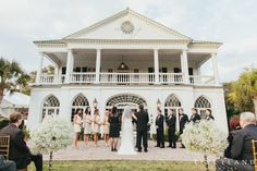 Anne Justin Lowndes Grove Plantation Wedding