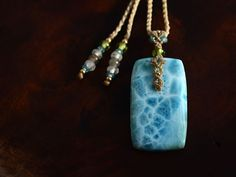 what a beauty - love artemano's works and larimar