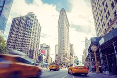 Photo du Flatiron Building New York City par Brice Mercier