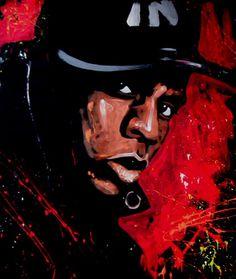 Jay Z by David Garibaldi David Garibaldi, Music Artwork, African American Art, Black Artists, Street Art, Street Style, Amazing Art, Hip Hop, Art Prints