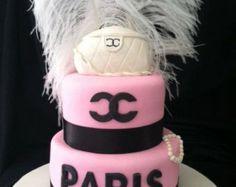 Chanel Cake Topper