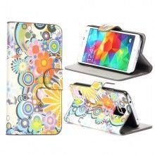 Funda Book Samsung Galaxy S5 Design Naturaleza Flores 4  S/. 40.00