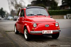 Tiny Red Car by MB marcusfotos.de on 500px Classic Car Styr Puch