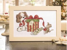 Puppy Play by Helz Cuppleditch The World of Cross Stitching Issue 236 December 2015 Zinio Saved