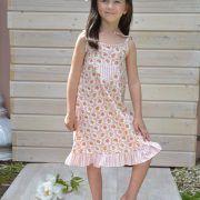 Kleid Rosensommer, ein zarter Rosentraum mit mediterraner Note