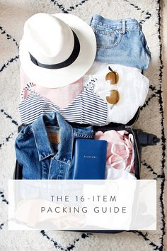 The Only 16 Items You Need for Any Summer Vacation via @PureWow