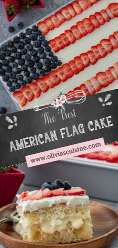 An American Flag Cake that not only looks pretty and patriotic but also tastes amazing? Yes, it exists! This easy American Flag Cake recipe makes an eye-catching centerpiece for your Memorial Day or Fourth of July celebrations. This is the BEST patriotic American Flag Cake that you'll come back to over and over again! #americanflag #cake American Flag Cake, Get Outside, Fourth Of July, Memorial Day, How To Look Pretty, Centerpiece, Celebrations, Summertime, Eye
