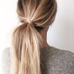 26 style of ponytails you have to inspire • Strana 25 z 29 • WHAT ABOUT A LIFE