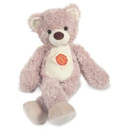 peluches hermann-teddy Ours pantin beige 32 cm Sweet purple Teddy   #teddy #nounours #doudou