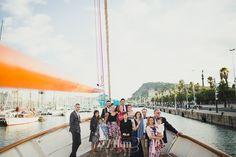 reportaje fotográfico de Boda en un barco en el mar en Barcelona, bodas 274km, barco, puerto, mar, barcelona, hospitalet