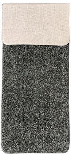 Ottomanson Luxury Collection Solid Shag Runner Rug with Non-Slip/Rubber-Backing #Ottomanson