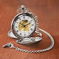 If I were a man, I'd totally carry a pocket watch