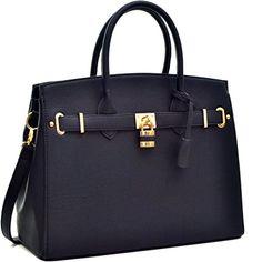 4557b77dfe0 Molodo Womens Satchel Hobo Stylish Top Handle Tote PU Leather Handbag  Shoulder Purse