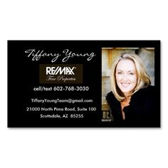 Dark keller williams business card template design keller real estate photo with assistant on back of card business card templates flashek Gallery