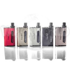 Kanger has released another fantastic all-in-one starter kit! The Cupti 75W offers an amazing vaping experience to both mouth-to-lung and direct-to-lung vapers. It features a 5ml tank with an anti-leak design and a 75W max output. This kit is great for everyone, including beginners!
