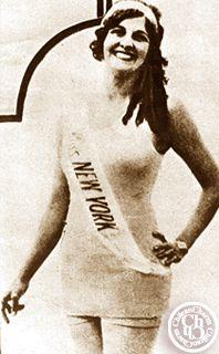 MISS UNIVERSE 1927 /  originaria de New York Dorothy Britton