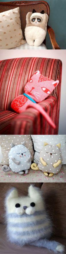 Подушка-кот | Подушка-кот своими руками