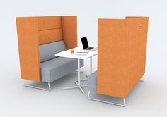 Lagoon Meeting Sofas - Cube Spaces : Cube Spaces