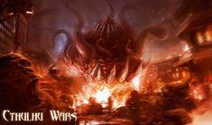 Cthulhu Wars - Shub Niggurath by TentaclesandTeeth | Digital Art / Drawings & Paintings / Fantasy | Lovecraftian