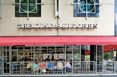 "These four restaurants across the South feed more than just appetites. The King's Kitchen Charlotte, NC The Place: A Southern meat 'n' three kitchen in Uptown where the motto is ""Eat some chicken, ..."